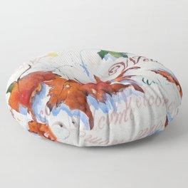 Platanus Falling Floor Pillow
