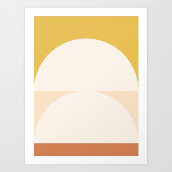 Abstract Geometric 01 by theoldartstudio