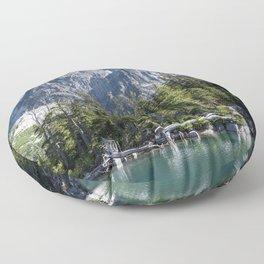 Asgard Pass Dragontail Peak Colchuck Lake Floor Pillow