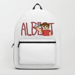 Albertsstuff Flamingo Fanart Backpack