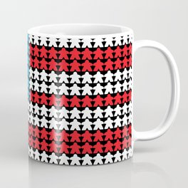 United Meeples of America by Blackburn Ink Coffee Mug