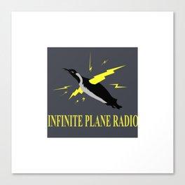 Infinite Plane Radio Canvas Print