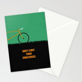 Lab No. 4 -Don't Limit Your Challenges Corporate Start-Up Quotes Stationery Cards