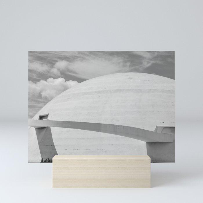 Niemeyer | architect | National Museum Mini Art Print