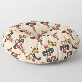 FAST & FREE Floor Pillow