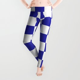 Checkered (Navy & White Pattern) Leggings