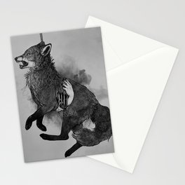 poena mortis Stationery Cards