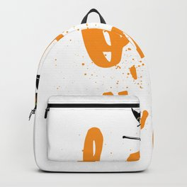 Funny Halloween Boo Y'all For Texans and Southerners Backpack