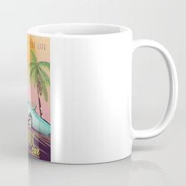 Electric Car Vintage Commercial Coffee Mug