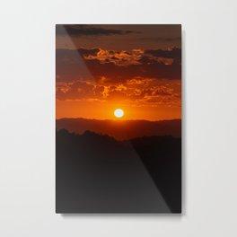 Mulholland Sunset 01 Metal Print