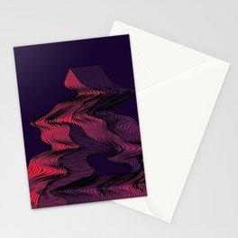 Penrose Distortion (Dark) Stationery Cards