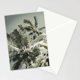 Kuau Hawaii Tropical Palms Sea Green Paia Maui Stationery Cards