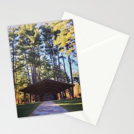 Fall Park Stationery Cards