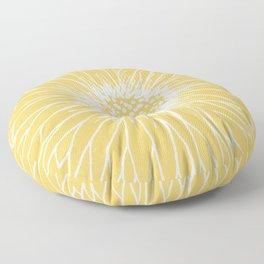 Minimalist Sunflower Floor Pillow