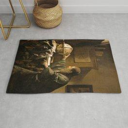 "Johannes Vermeer ""The Astronomer"" Rug"