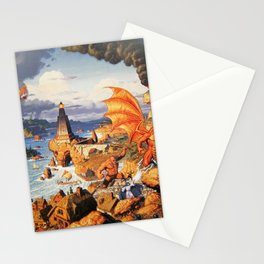 Ultima Online poster Stationery Cards