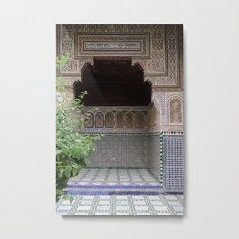 Doorways of Morocco Metal Print