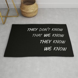 The One Where Everybody Knows Rug