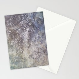 Organic Paint on canvas Stationery Cards