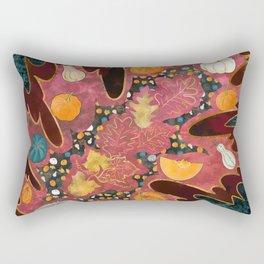 Abstract Halloween Harvest Rectangular Pillow