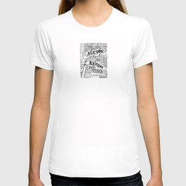 Tercera Ley de Newton T-shirt