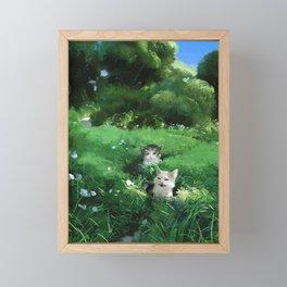Internet Cats Framed Mini Art Print