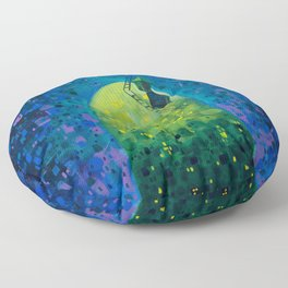 Oasis in the Urban Jungle Floor Pillow