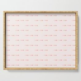 Cubed, Pink Monochrome Serving Tray
