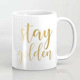 Stay Golden Coffee Mug