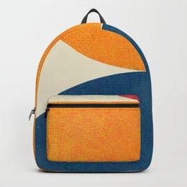 Abstract geometric modern art II Backpack