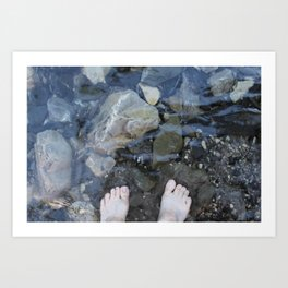 Cold Toes Art Print