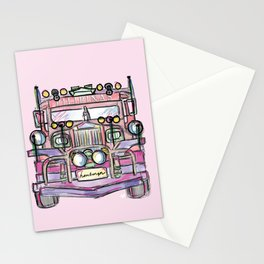 jeepney Stationery Cards