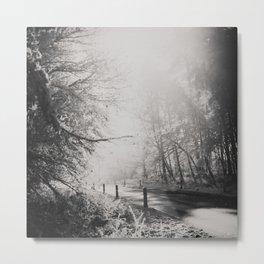 any road photograph Metal Print