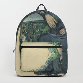 Paul Cézanne - Madame Cézanne in the Garden Backpack
