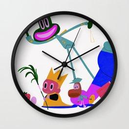 LE ROI PETIT POIS PART 1 Wall Clock