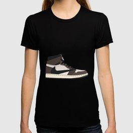 Jordan 1 Retro High Cactus Jack T-shirt