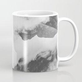 Misty Mountain II B&W Coffee Mug