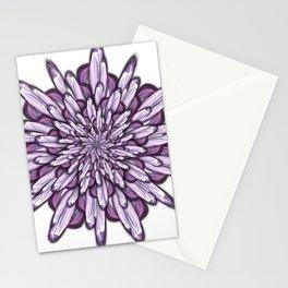 Crystalline - No Background Edit Stationery Cards