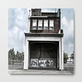 The empty house is full of noise Metal Print