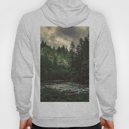 Pacific Northwest River - Nature Photography Hoody
