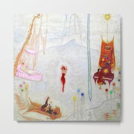 Dance Like Nobody Is Watching (Music to Dance By), A Portrait by Florine Stettheimer Metal Print