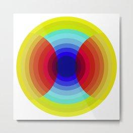 crossing colors Metal Print