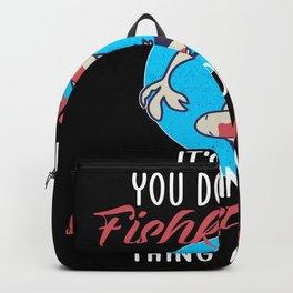 its ok if yu dont like fishkeeping Backpack