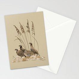 Chukar Partridges Stationery Cards