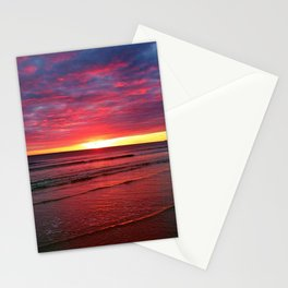 Moonstone Beach, Rhode Island Sunset Stationery Cards