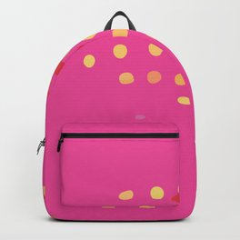 Abstract Modern Art Background in Bright Pink Color GC-118-2 Backpack