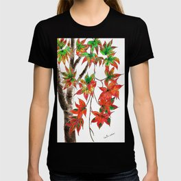 Japanese Maple in Red October T-shirt