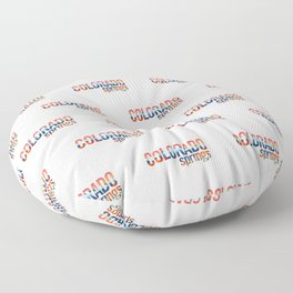 Colorado Springs Floor Pillow