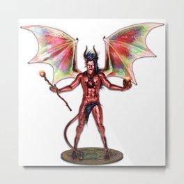 Winged Demon Metal Print