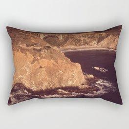 Cave And Bridge, California Coast NARA 543436 Rectangular Pillow